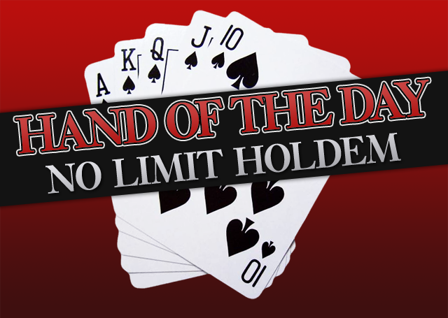 Hand of the Day 9: NL10 BB v CO